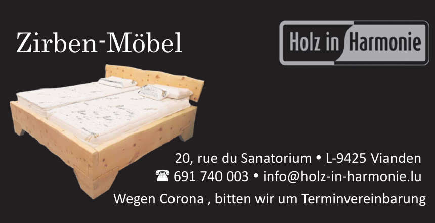 Holz in Harmonie