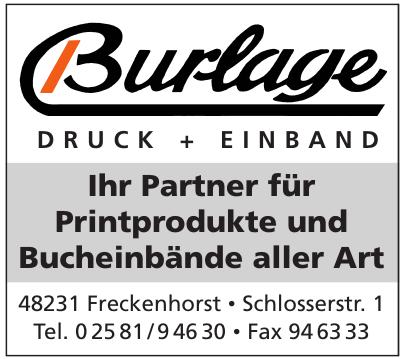 Burlage Druck + Einband GmbH