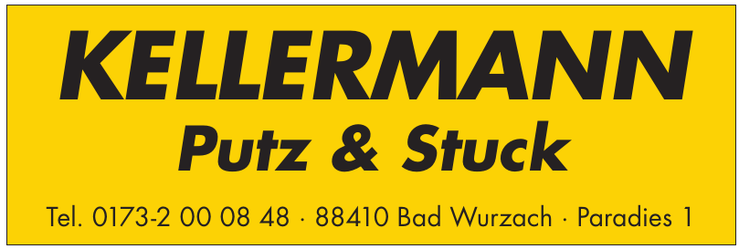 Kellermann Putz & Stuck