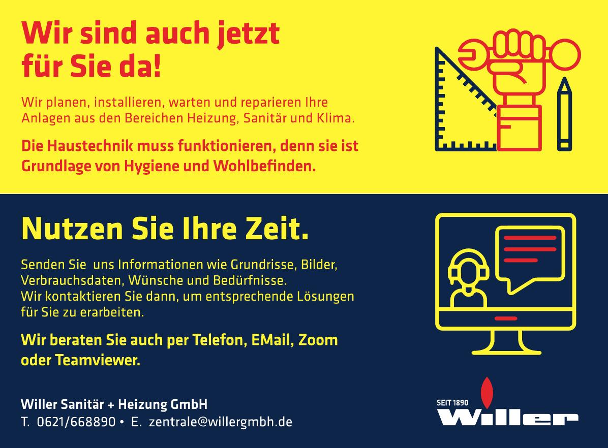 Willer Sanitär und Heizung GmbH