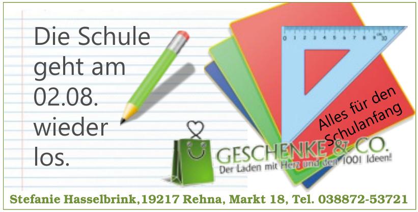 Geschenke & Co. - Stefanie Hasselbrink