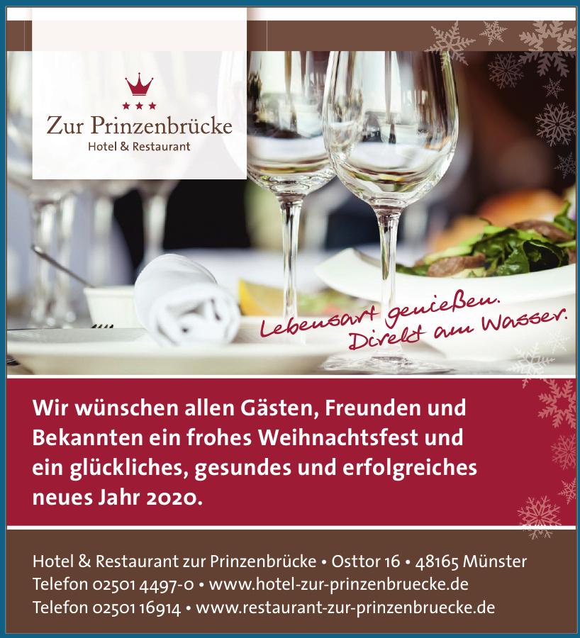 Hotel &Restaurant zur Prinzenbrücke