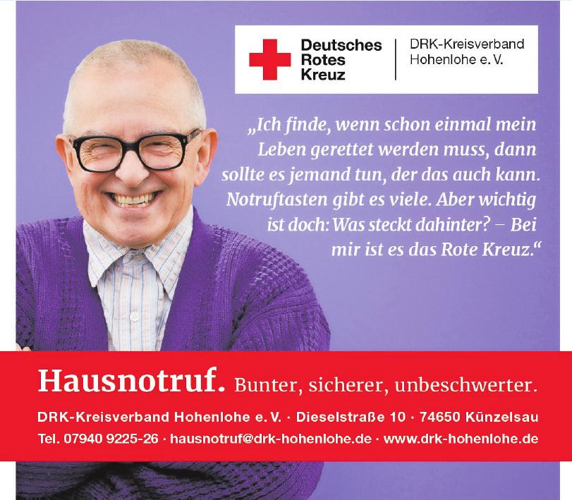 DRK-Kreisverband Hohenlohe e.V.