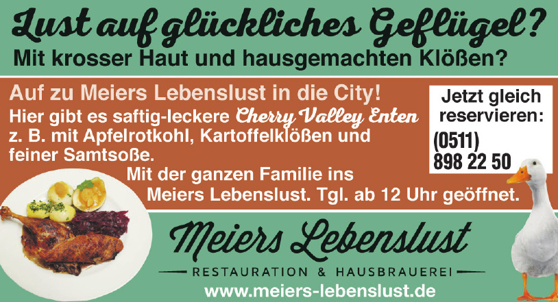 Meiers Lebenslust Restauration