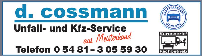 d. cossmann