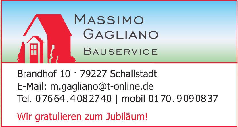 Massimo Gagliano Bauservice