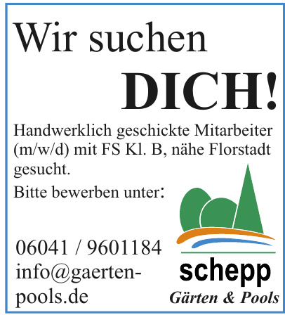 schepp Gärten & Pools