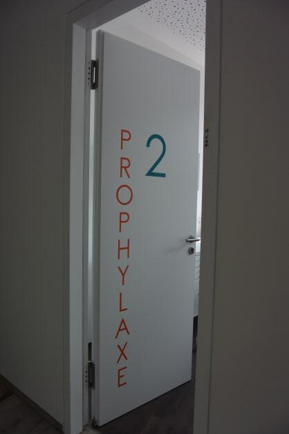 Prophylaxe wird großgeschrieben.