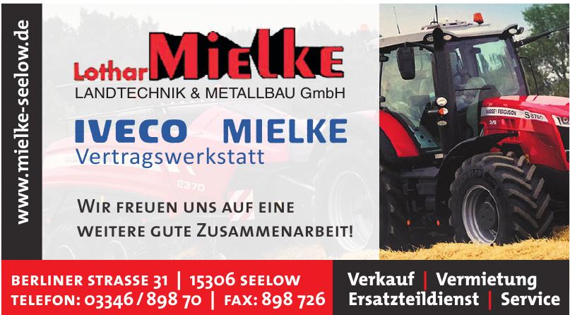 Lothar Mielke Landtechnik & Metallbau GmbH