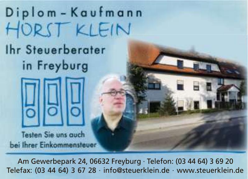 Diplom-Kaufmann Horst Klein, Steuerberater