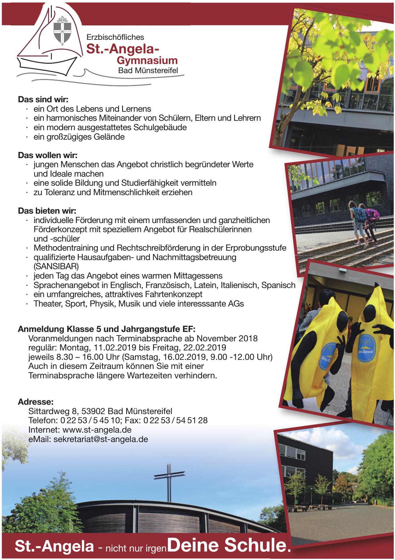 Erzbischöfliches St.-Angela-Gymnasium Bad Münstereifel