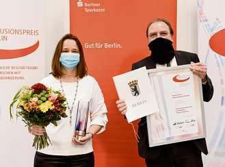 Frank Jeromin und Beate Pfau, Mosaik-Services Integrationsgesellschaft GmbH