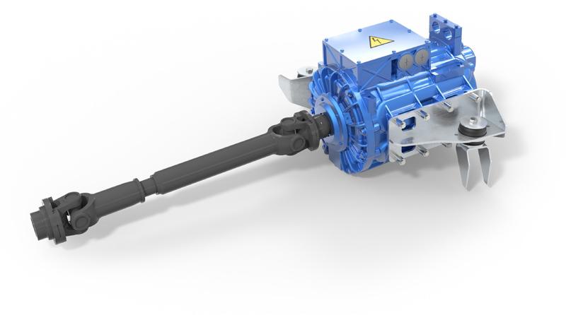 IPSM Motor: Leistung: 340 kW Drehmoment: 3.100 Nm Drehzahl: 5.400 U/min
