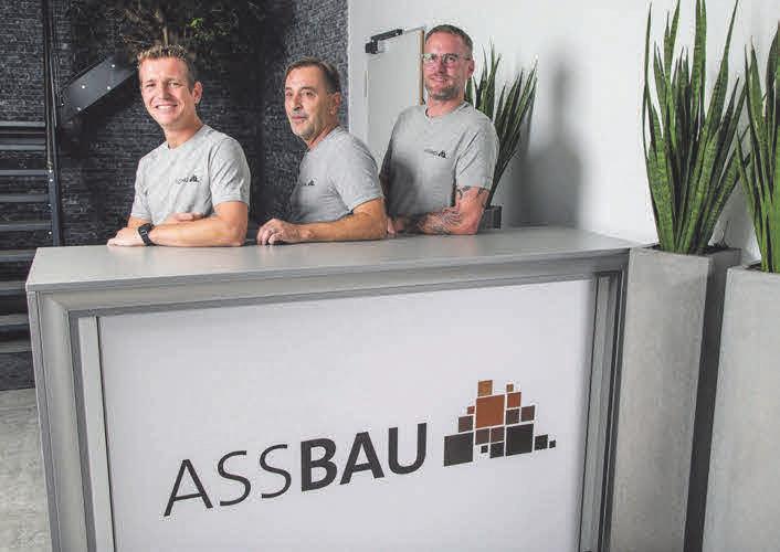 Die Abteilungsleitung mit Ralph Wutschka, Joachim Lorenz und Oliver Wenk.