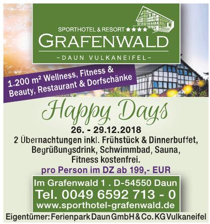 Sporthotel Grafenwald