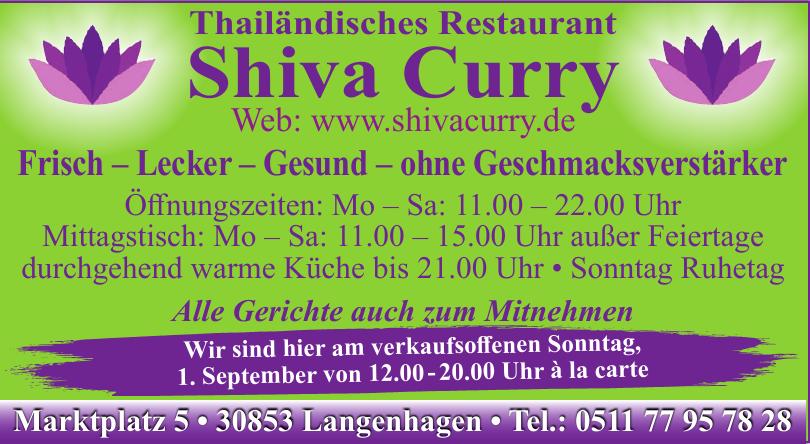 Shiva Curry