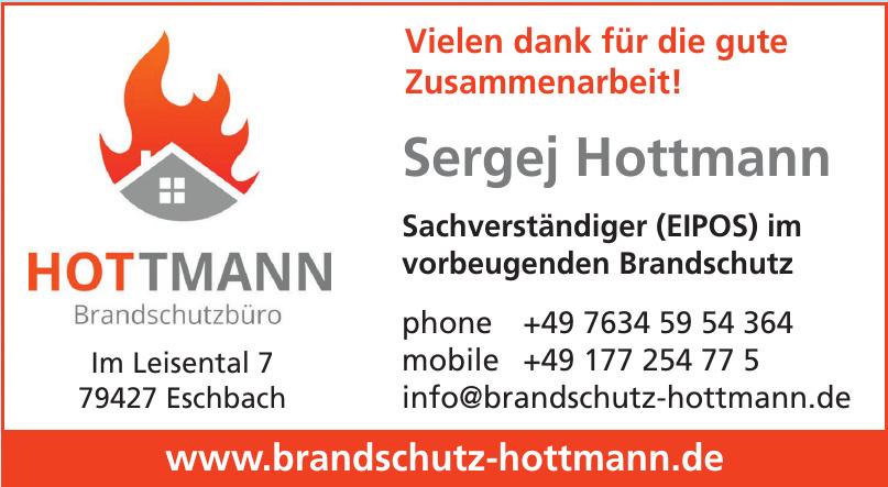 Brandschutz Hottmann