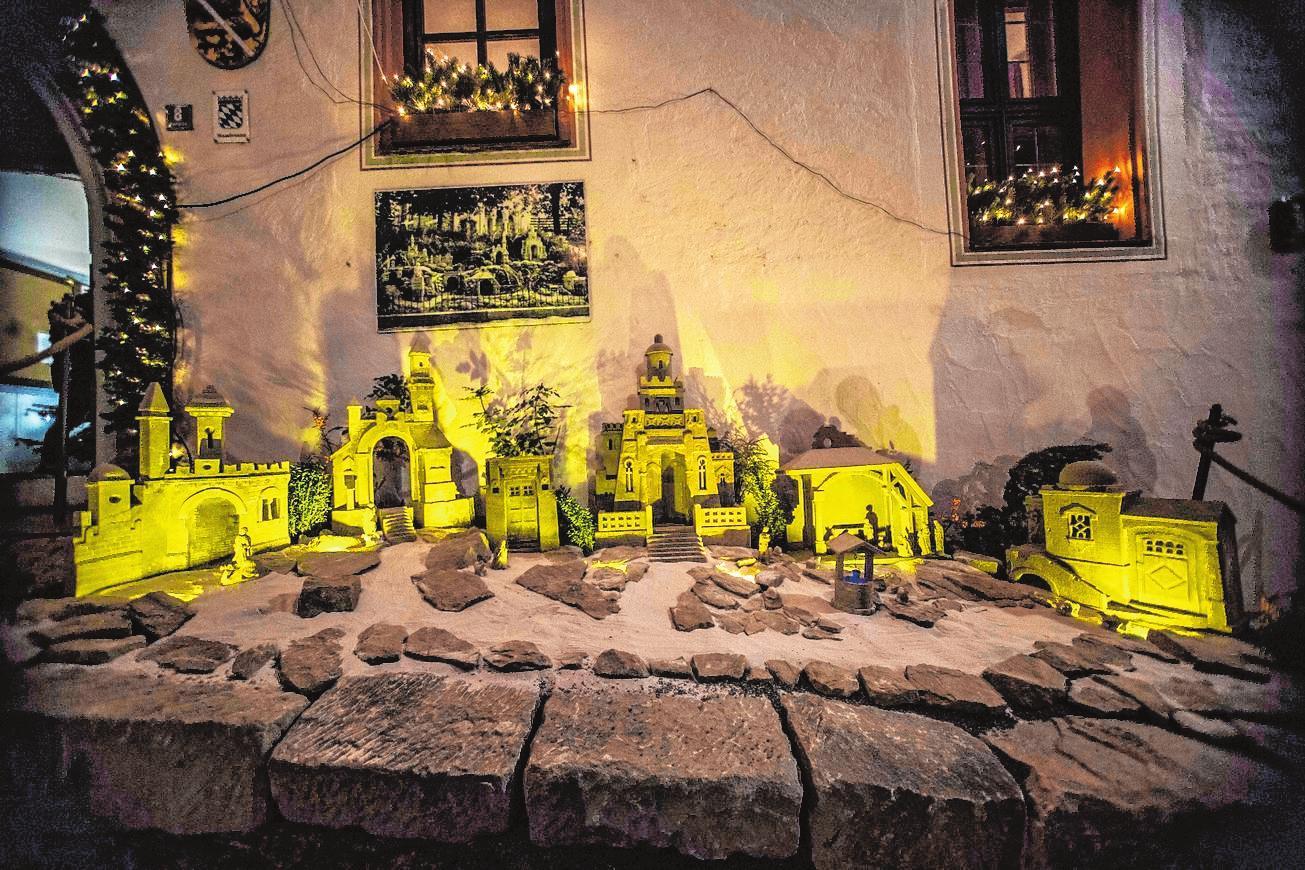 Im Rahmen des Weihnachtsmarktes wird wieder eine Krippenausstellung zu sehen sein. FOTO: REN`E RUPRECHT