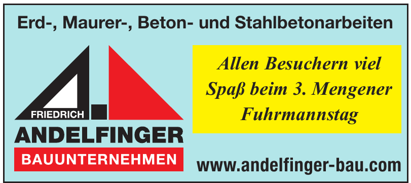 Bauunternehmen Friedrich Andelfinger