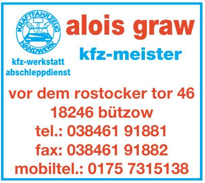 Alois Graw KFZ-Meister