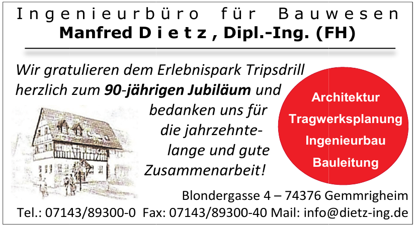 Manfred Dietz, Dipl.-Ing. (FH), Ingenieurbüro für Bauwesen