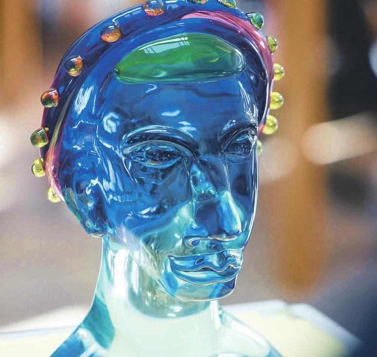 Im Glasmuseum in Rheinbach können Besucher filigranes Kunsthandwerk entdecken Foto: Matthias Kehrein