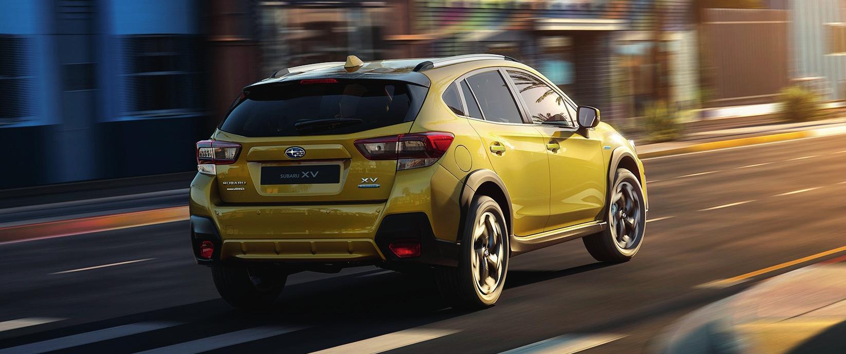 """Bessere Traktion und neuer Farbton """"Plasma Yellow Pearl"""". Fotos: Subaru"""