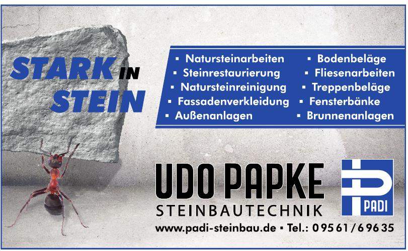 Udo Papke Steinbautechnik