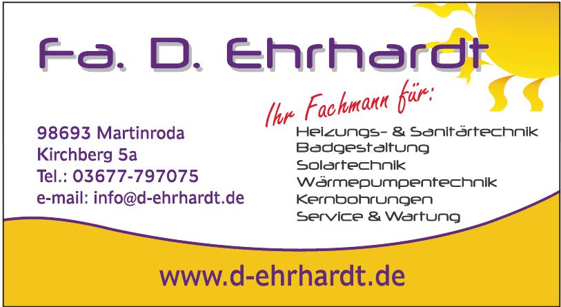D. Ehrhardt