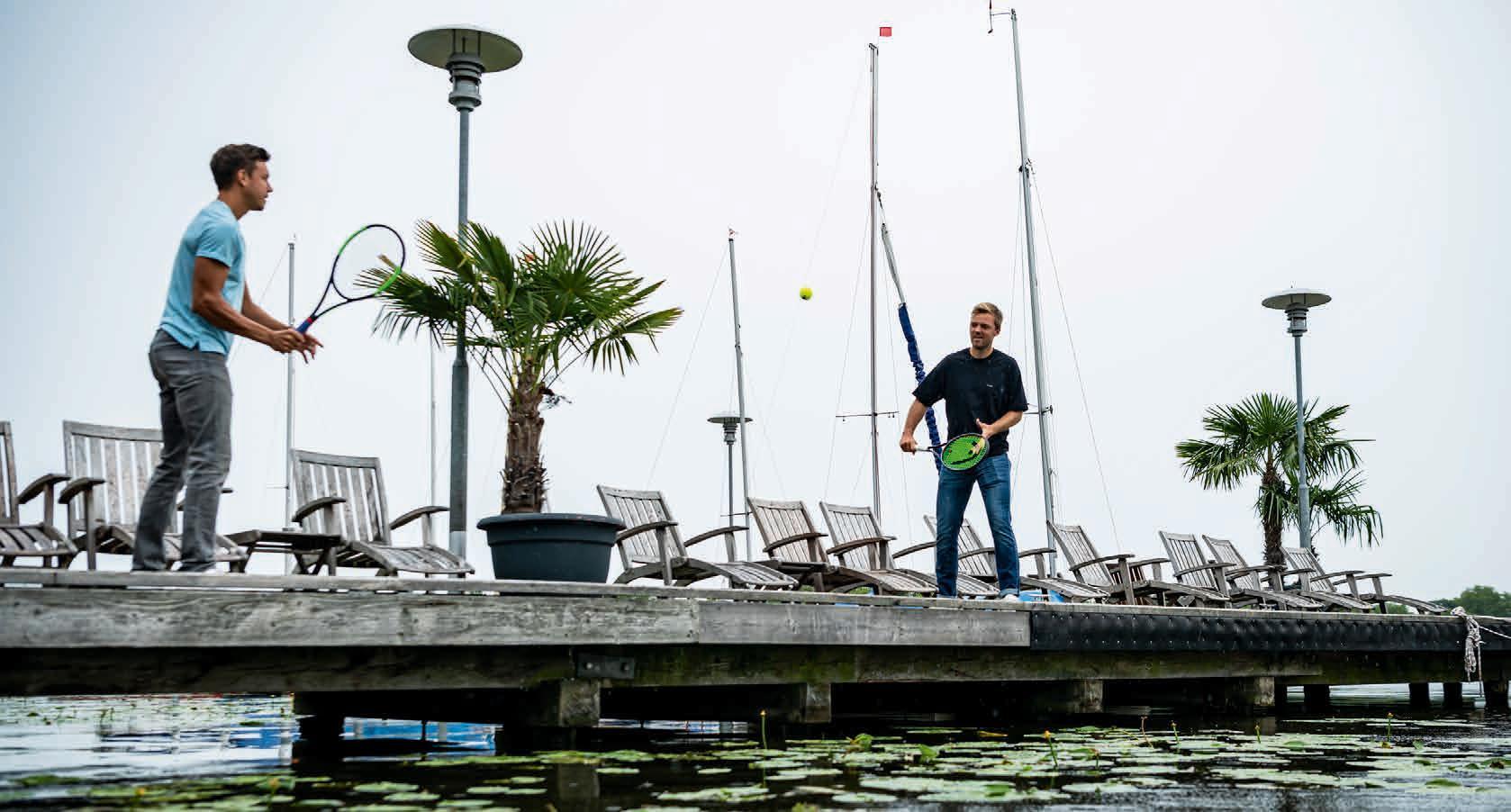French Open Doppel Sieger, Kevin Krawietz (r) und Andi Mies, hatten ihren besten Auftritt leider nur an der Alster. Aus in Runde 2. Foto Alexander Scheuber/ Hamburg European Open