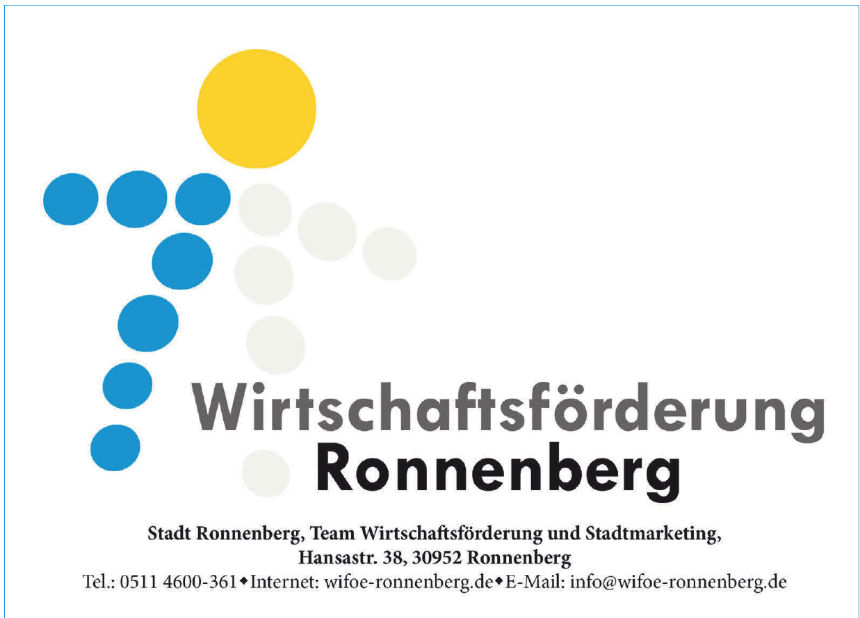 Wirtschaftsförderung Ronnenberg - Stadt Ronnenberg, Team Wirtschaftsförderung und Stadtmarketing