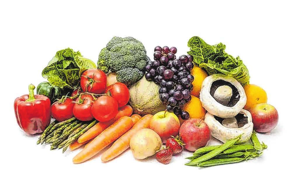 Empfohlen wird, viel Gemüse und Obst zu essen. Außerdem sollte man genügend Eiweiß zu sich nehmen. Foto: Archiv
