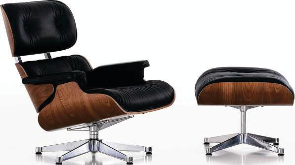 Der Eames Lounge Chair ist in verschiedenen Ausführungen erhältlich. FOTO: VITRA