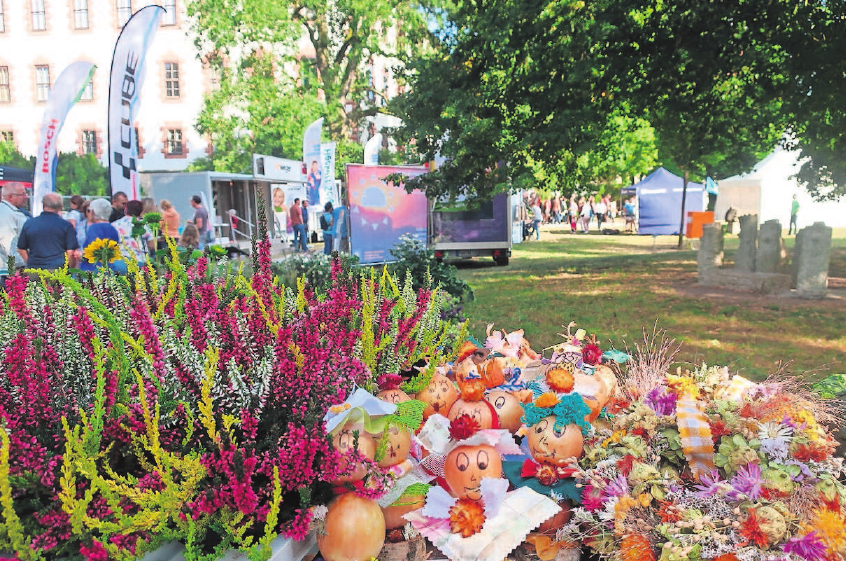 Die achte Ausstellung öffnet am Freitag im Schlosspark die Pforten.