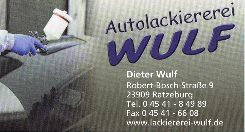 Autolackiererei Dieter Wulf