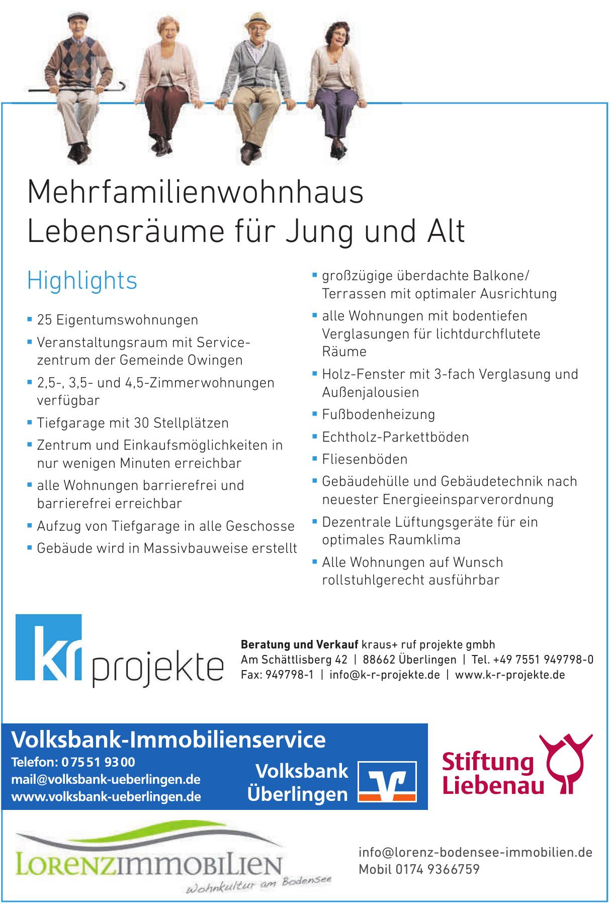 Beratung und Verkauf kraus+ ruf projekte GmbH