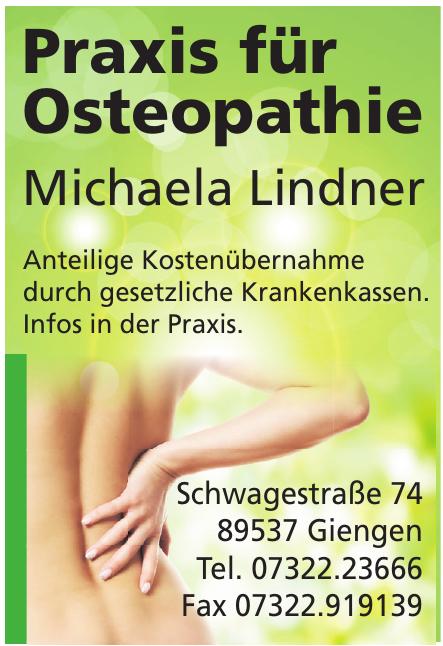 Praxis für Osteopathie Michaela Lindner