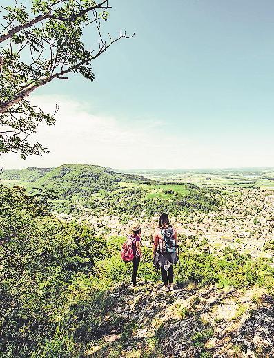 Immer wieder tolle Ausblicke: Wandern im Ostalbkreis.