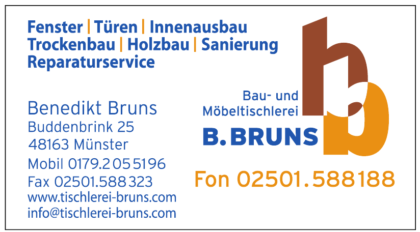 Tischlerei B.Bruns