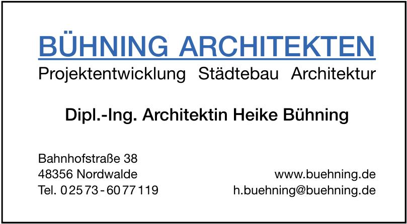 Bühning Architekten