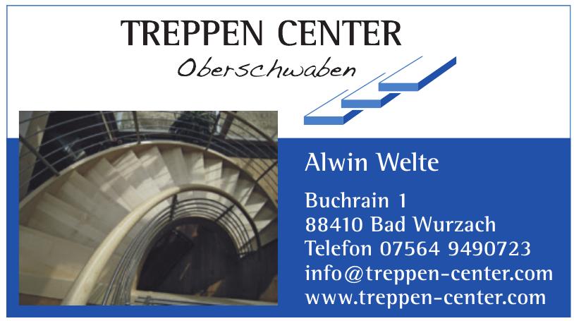 Treppen Center Oberschwaben Alwin Welte
