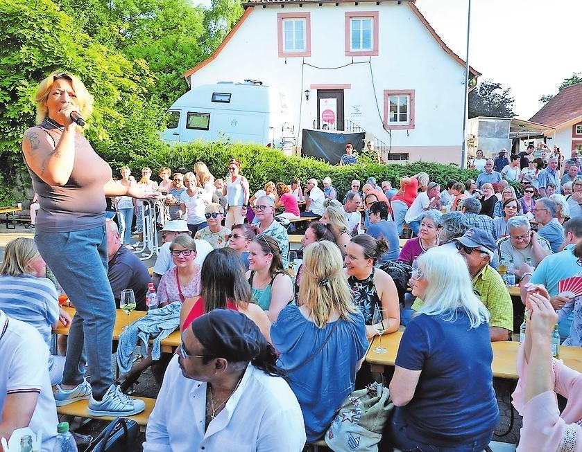 Der Ernstweilerhof hat im Sommer erstmals eine Konzertserie veranstaltet. Der Musiksommer – hier mit der Soul Family – bot Top-Bands in einem tollen Ambiente. FOTO: MOSCHEL