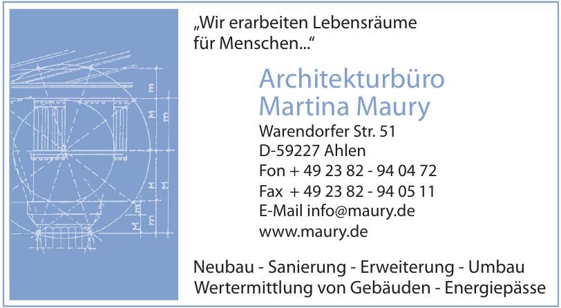 Architekturbüro Martina Maury