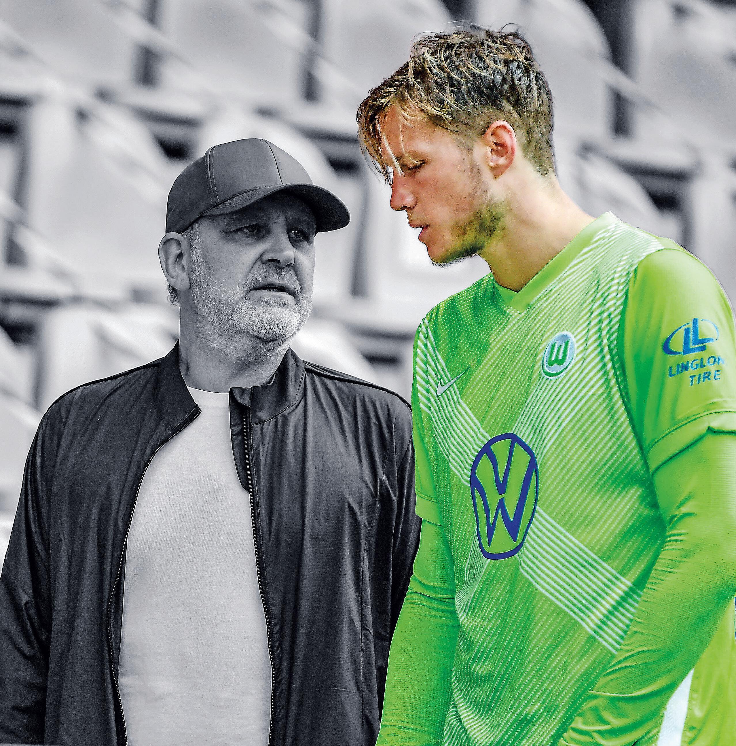 Mehr Tore: Wout Weghorst erzielte in der vergangenen Saison 16 der 48 Wolfsburger Bundesliga-Treffer. Manager Jörg Schmadtke wünscht sich für die neue Spielzeit insgesamt mindestens 15 Tore mehr von der Mannschaft
