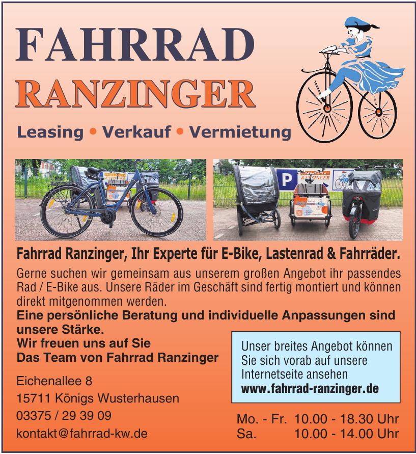 Fahrrad Ranziger