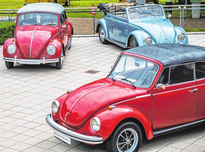Alte VW-Modelle faszinieren