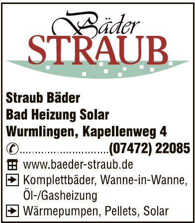 Bäder Straub