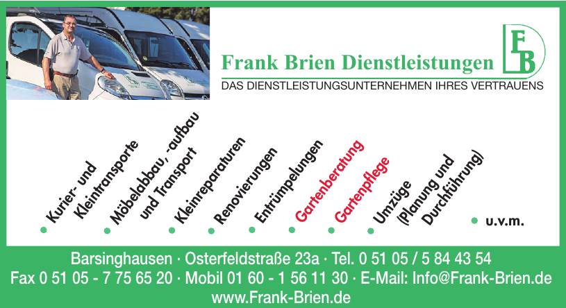 Frank Brien