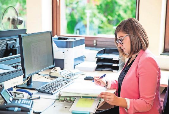 Profis im Organisieren: Kaufleute für Büromanagement. Foto: dpa