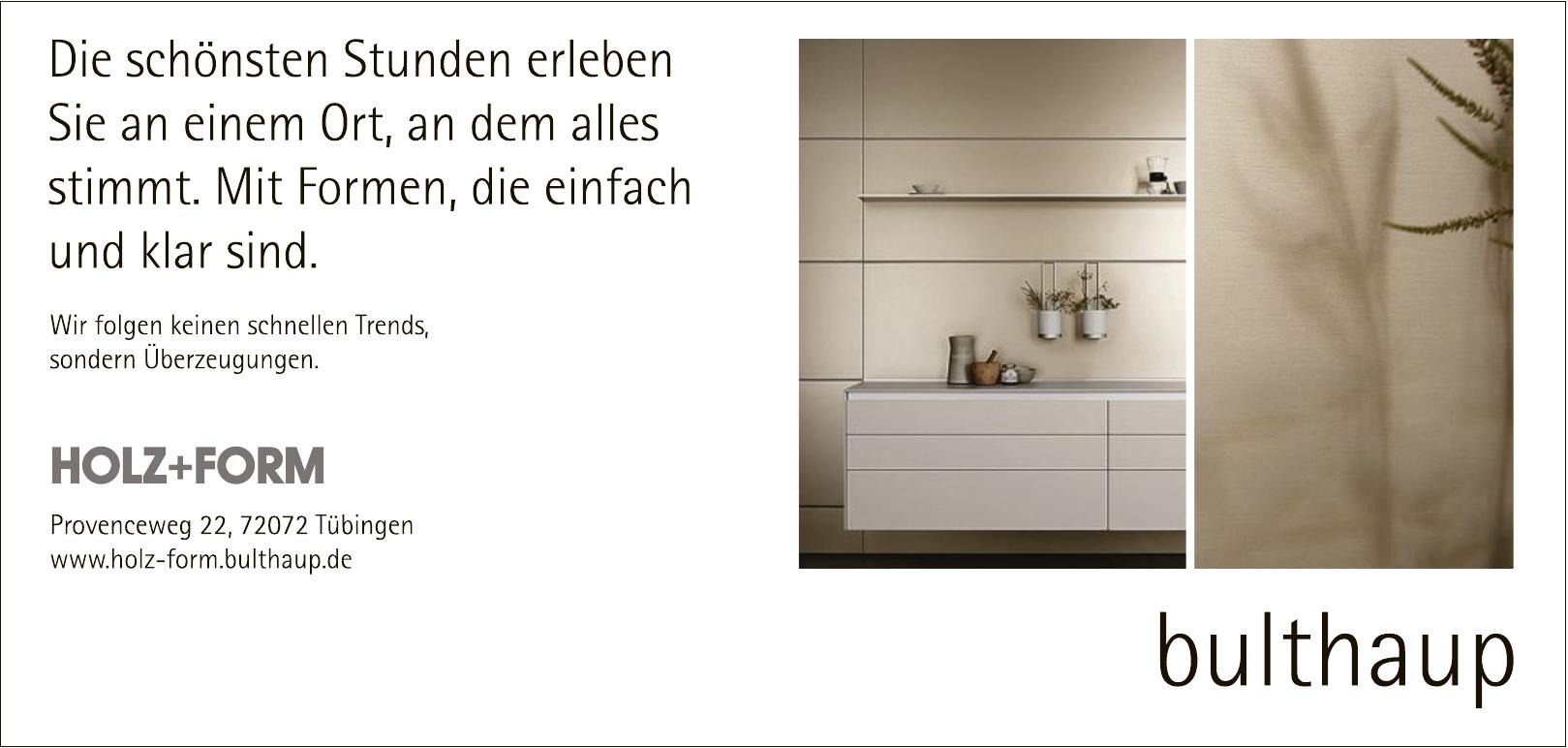 Holz+Form Bulthaup